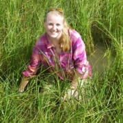 Hannah in the marsh